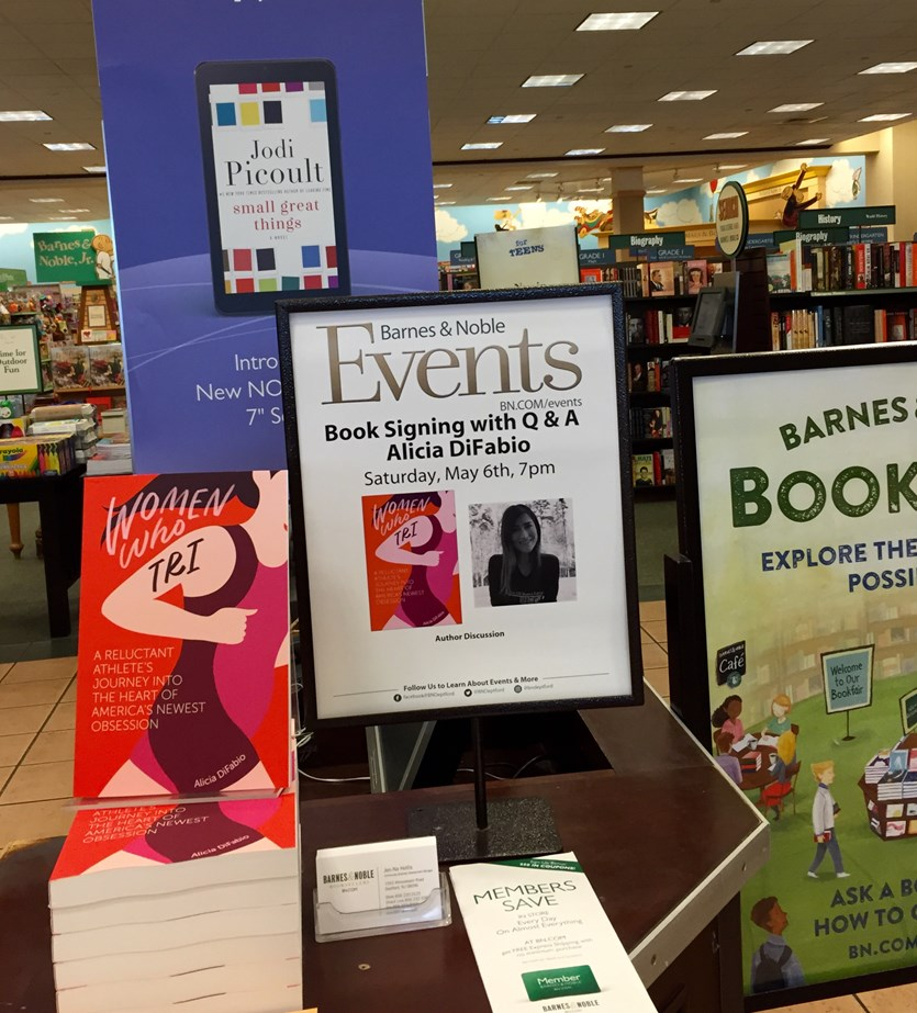 Book Signing at Barnes & Noble